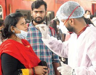 Coronavirus In India : एक दिन में 14,313 केस और 181 मौतें दर्ज, संक्रमण के नए मामलों में बड़ी गिरावट