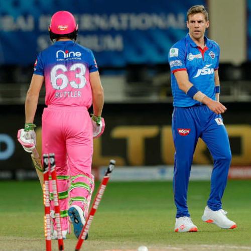 IPL 2020 DC vs RR: दिल्ली कैपिटल्स के गेंदबाज ने फेंकी IPL इतिहास की सबसे तेज गेंद, स्पीड सुनकर उड़ जाएंगे होश