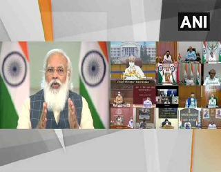 PM मोदी ने हाई कोविड-19 पाॅजिटिविटी रेट वाले छह राज्यों के सीएम से की बात, स्वास्थ्य बुनियादी ढांचे को मजबूत करने का किया आग्रह