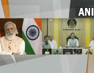 PM मोदी ने गोवा में सभी लोगों को कोरोना वैक्सीन की पहली डोज लगने पर दी बधाई, कल हुए रिकाॅर्ड वैक्सीनेशन की भी की तारीफ