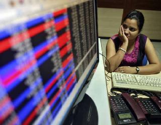 प्राॅफिट बुकिंग से फिसला शेयर बाजार, ITC 6 प्रतिशत से ज्यादा नीचे आया