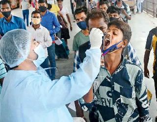 Coronavirus In India : एक दिन में  31,923 नए मामले और 282 मौतें, एक्टिव केस घटे