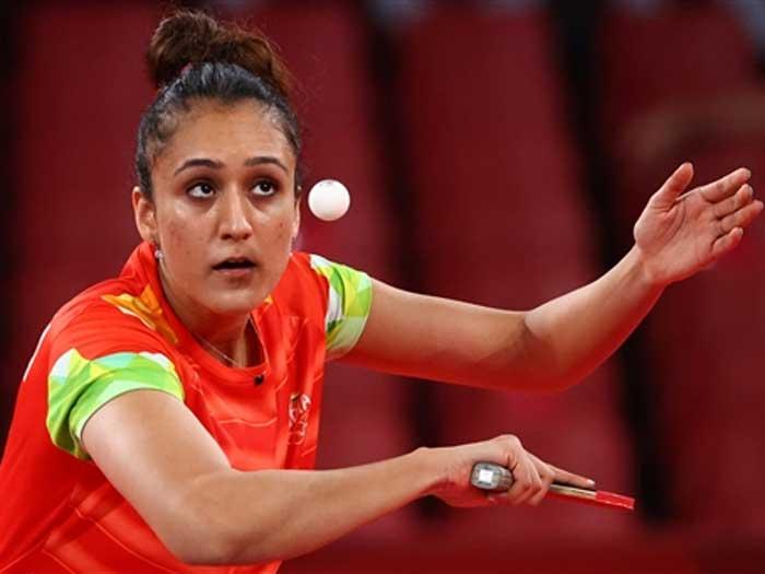 ओलम्पिक में भारतीय टेबल टेनिस प्लेयर मनिका बत्रा पदक की दौड़ में आगे