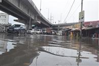 भारी बारिश से टूटा पुल, सड़कें बंद