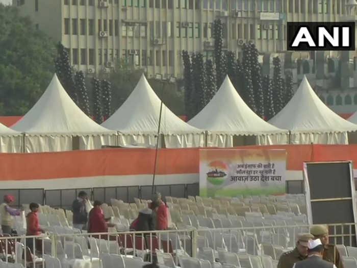 bharat bachao rally: तैयारियां पूरी,आज मोदी सरकार पर दिल्ली में बरसेंगे सोनिया व राहुल गांधी