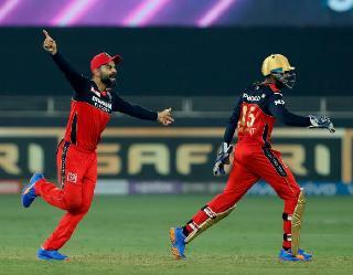 IPL 2021 RCB vs RR match highlights: कोहली की टीम 7 विकेट से जीती, क्वाॅलीफाई में पहुंचने के पूरे चांस
