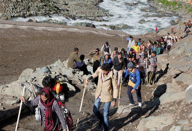 अमरनाथ यात्रा: खत्म नहीं होगा देह के प्रति अभिमान,तो नहीं कर पाएंगे अमरता की यह यात्रा